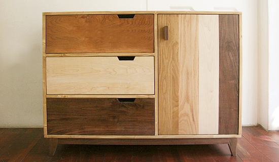 Patch-door drawer