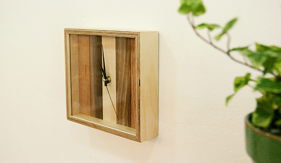 Patchwork-clock