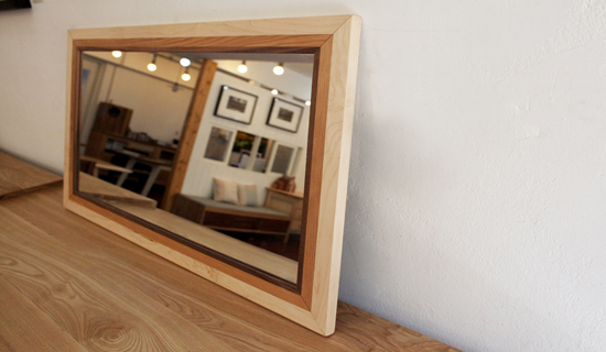Patch frame mirror