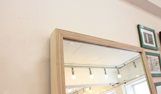 Birch frame mirror