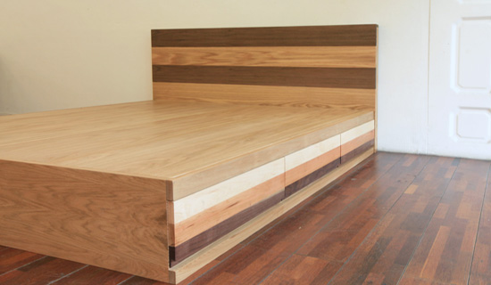 Patch drawer Q-bed