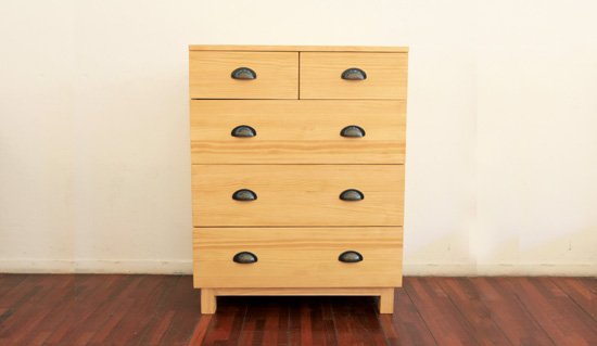 Pine basic drawer