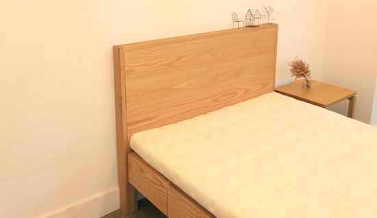 Red oak S bed