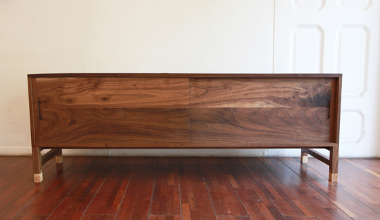 Walnut W-chest